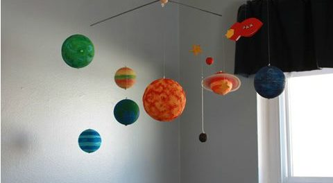 Поделки про космос своими руками из подручных материалов