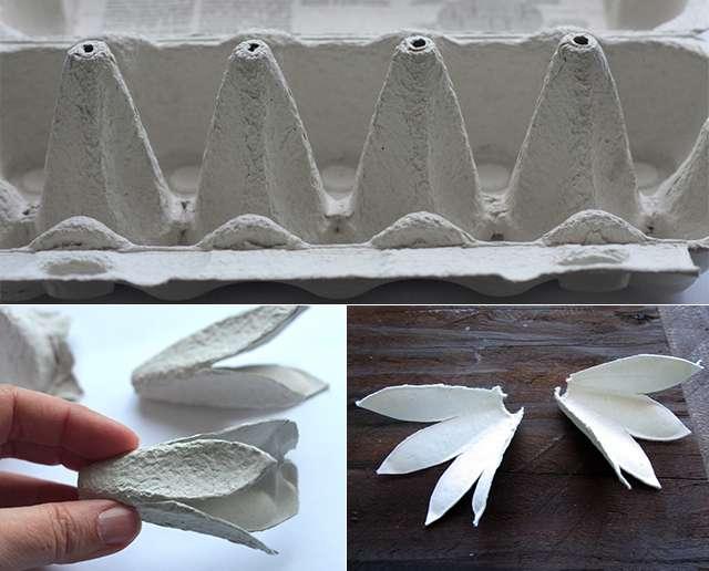 Как сделать петуха из яичных лотков пошагово фото 587