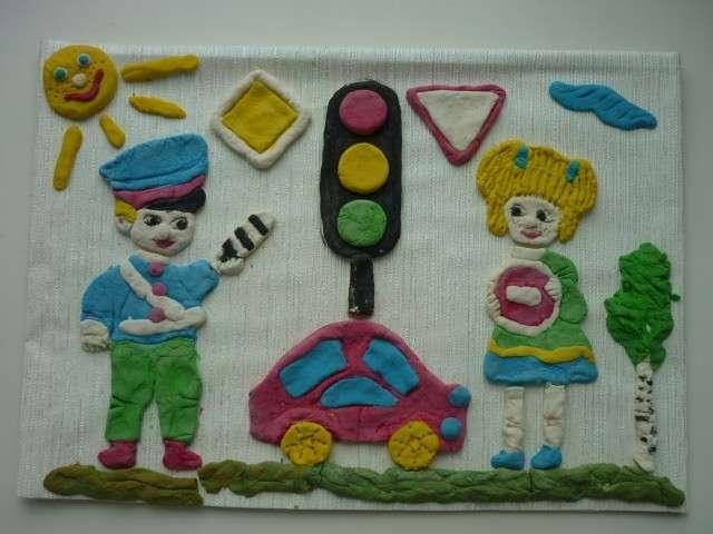 поделки правила дорожного движения фото