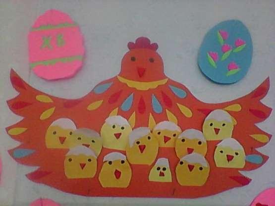поделки к пасхе в детский сад