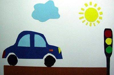 поделка правила дорожного движения для детей