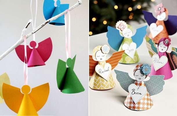 поделки на рождество для детей легкие
