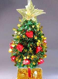 как украсить елку из пенопласта фото