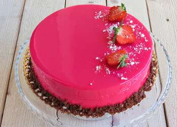 как украсить домашний торт своими руками фото