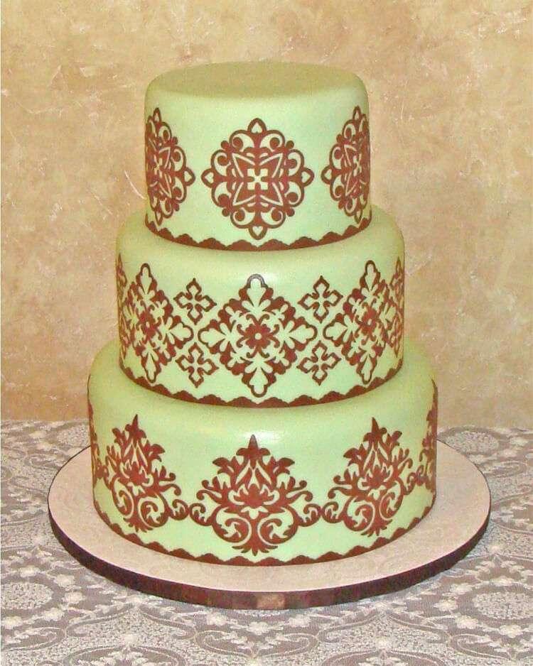 украсить торт своими руками без мастики