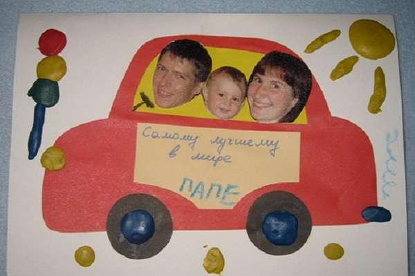 поделки с ребенком на день рождение папы