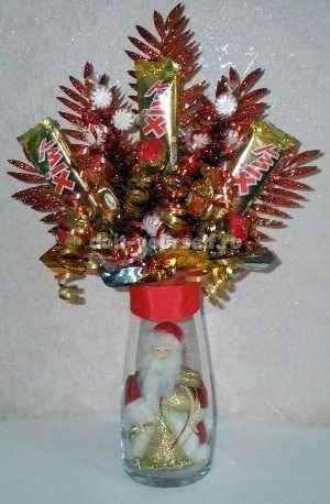 новогодние подарки с конфетами для детей