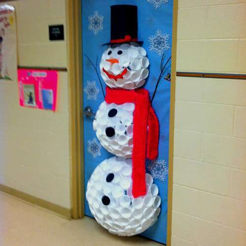 как украсить школьный класс к новому году