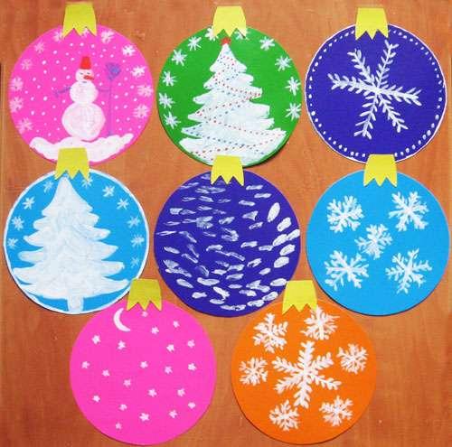 новогодние елочные шары из бумаги своими руками