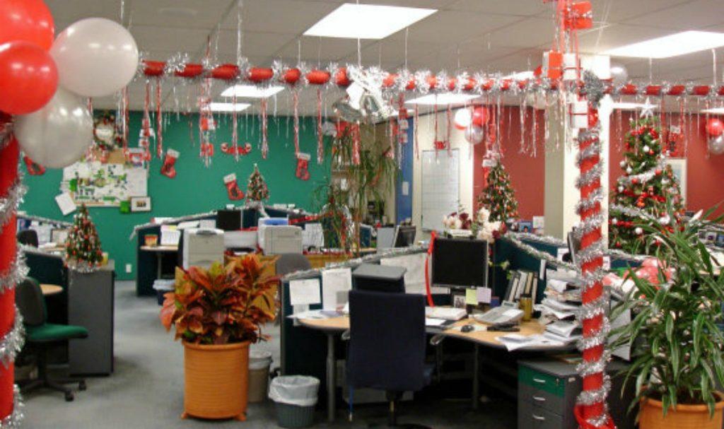 еще картинка украшенный офис каждого