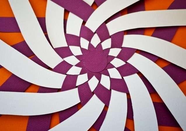 Как сделать шары из цветной бумаги для украшения елочки