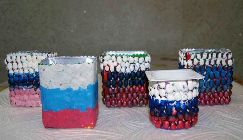 Поделки ко Дню Народного Еединства в детском саду