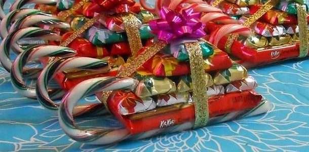как сделать подарок из конфет для ребенка
