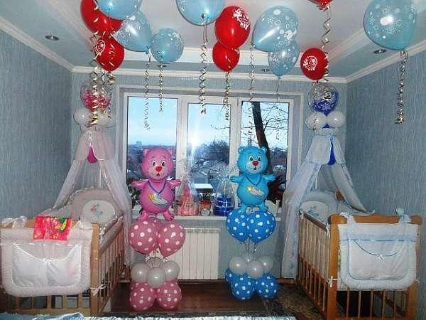 красиво украсить комнату на день рождения ребенка