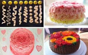 Украшаем торт своими руками. Описание и оригинальные идеи
