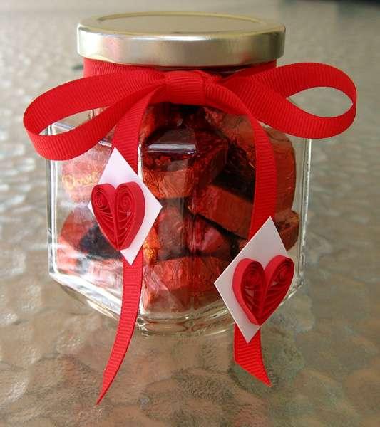 Подарок своими руками на 14 февраля сладкий