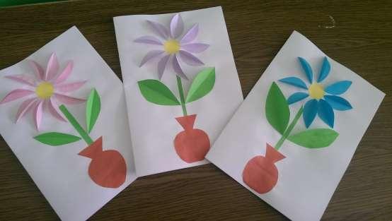 Открытка на 8 марта детский сад младшая группа, открытку днем