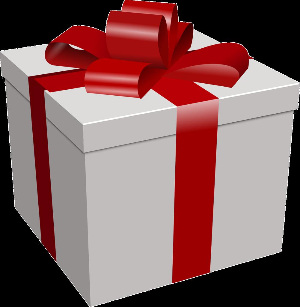 Коробка с подарком в png 902