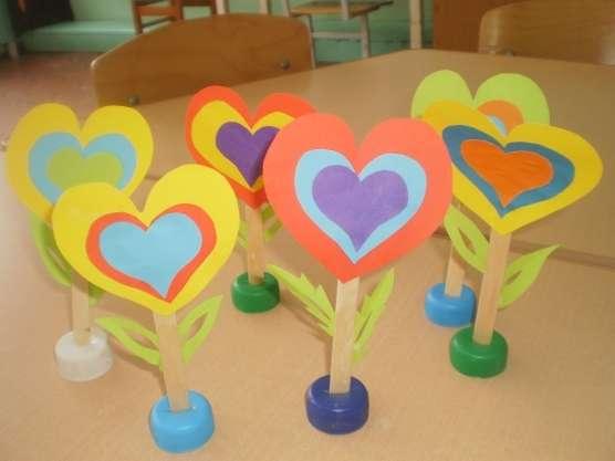 Поделки ко дню матери в детском саду своими руками