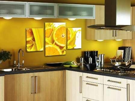 Картины для кухонь из нескольких частей