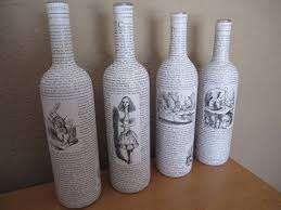 Декупаж: творческие идеи для вашего дома. Бутылка салфетками, шкатулка фото