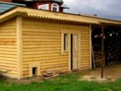 Сарай своими руками: каркасный деревянный пошагово. Видео