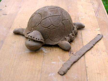 Лепка из глины мастер класс для начинающих