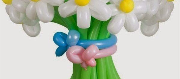 Цветы из шаров своими руками пошаговая инструкция фото 176