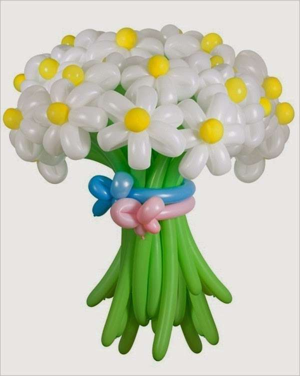 Цветы из шаров своими руками: пошаговая инструкция фото для начинающих