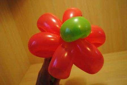 шарик цветок