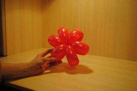 Цветы из шаров своими руками пошаговая инструкция фото для начинающих
