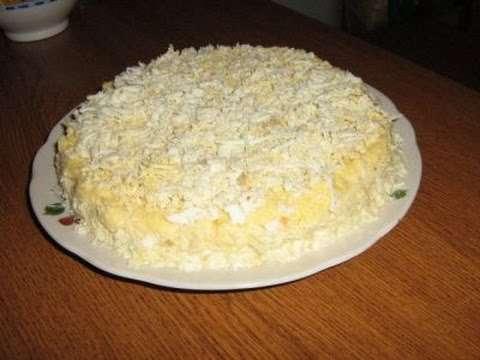 рецепт салата невеста с фото