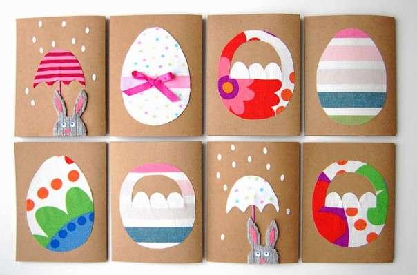 красивые открытки к пасхе своими руками