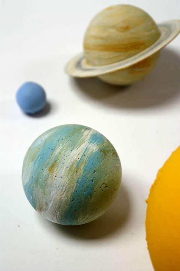 Детские поделки ко Дню Космонавтики
