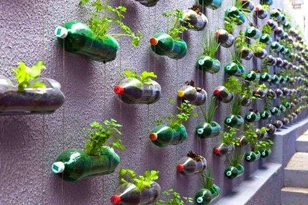пластиковые бутылки поделки для дачи мастер класс