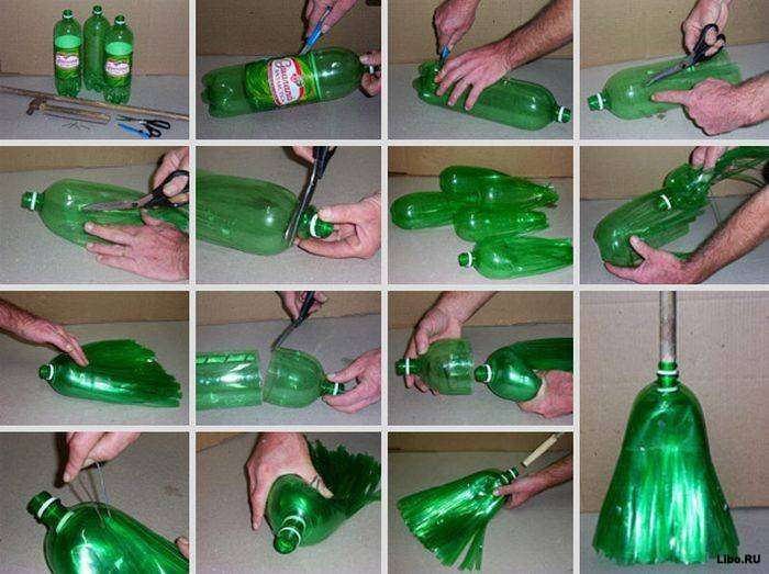 Поделки из бутылок для дачи