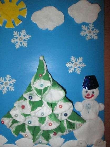 поделки на новый год для детского сада