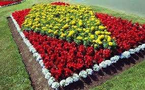 Землю на месте будущего цветника тщательно вскапывают и удаляют сорняки и их корни. Чтобы ограничить проникновение сорных трав из-за пределов цветника, используют ленты из пластика. Землю обязательно уд