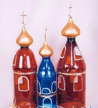 пластиковые бутылки поделки новый год
