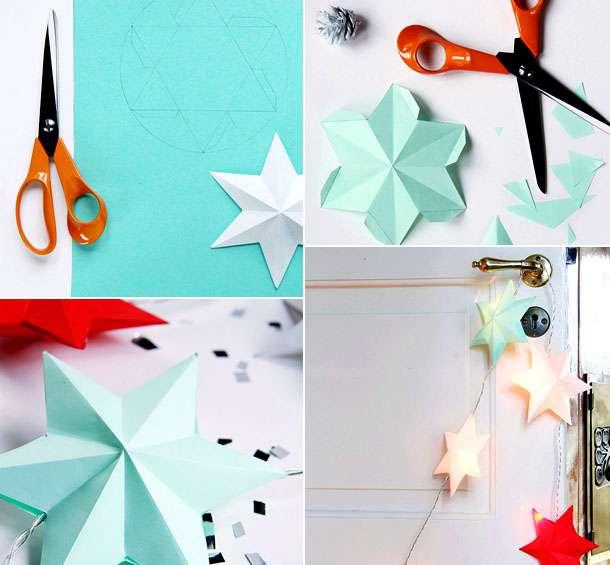 новогодние поделки из бумаги детям