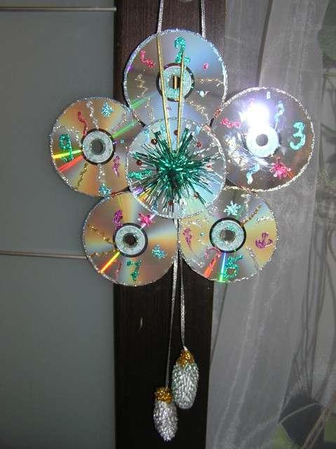 Как сделать игрушку своими руками из дисков