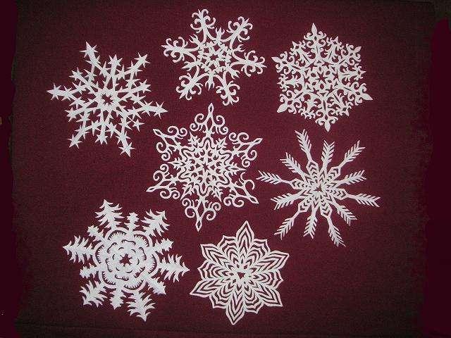 сделать снежинки своими руками новый год