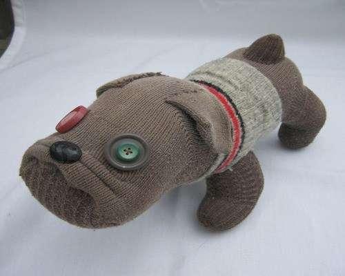 поделка собака своими руками из подручных материалов