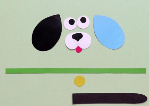 собака поделка для детей