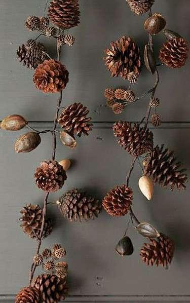 поделки из природных материалов новый год