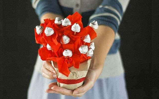 букет из конфет на день учителя