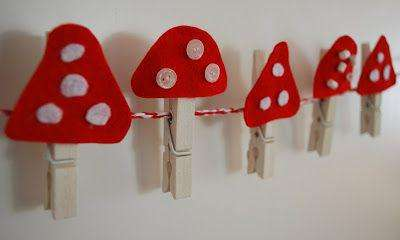 поделки грибов своими руками фото