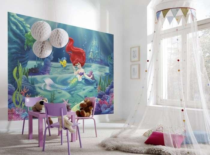 как украсить детскую комнату фото