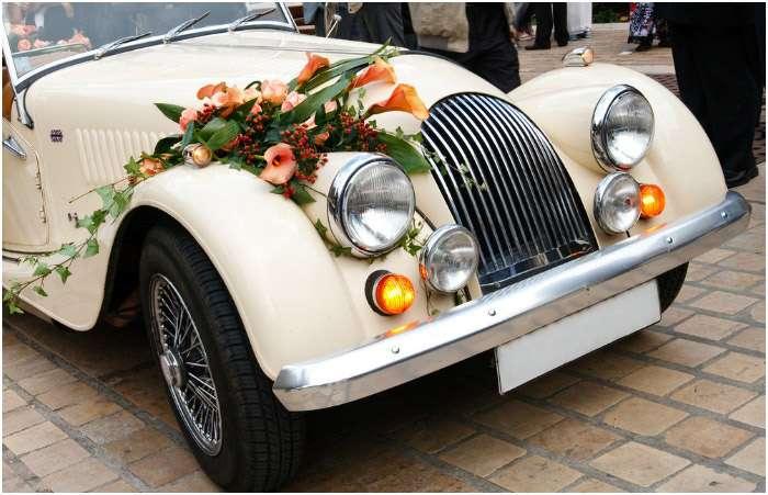 Как украсить машину для свадьбы самостоятельно