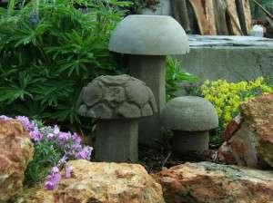 поделки грибы для дачи
